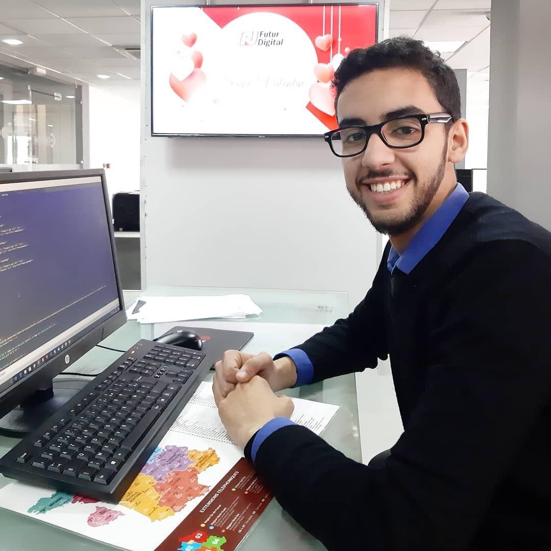 Jabal seifeddine ex étudiant en LPU DWM